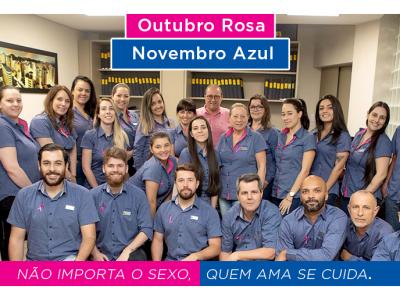 Campanha de  Conscientização Outubro Rosa Novembro Azul